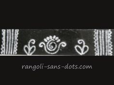 Rangoli designs a.a kolam or muggu through Rangoli-sans-dots - rangoli patterns, art and craft ideas through images Simple Rangoli Border Designs, Indian Rangoli Designs, Free Hand Rangoli Design, Rangoli Borders, Small Rangoli Design, Colorful Rangoli Designs, Rangoli Patterns, Rangoli Ideas, Rangoli Designs Images