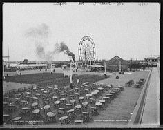Pontchartrain Beach amusement park opened 1928 where the Lake Vista neighborhood is today. The park later moved to Milneburg at Elysian Fields Avenue. Photo www.pontchartrain.net
