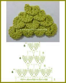 Filet Crochet Charts, Crochet Diagram, Crochet Stitches Patterns, Crochet Classes, Crochet Videos, Crochet Projects, Crochet Bikini Pattern, Christmas Embroidery Patterns, Crocodile Stitch