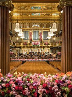 Neujahrskonzert with #Vienna Philharmonic orchestra