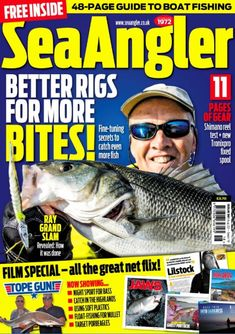Sea Angler Issue 561 Carp Fishing, Fishing Boats, Sea Angling, Fishing Magazines, Shimano Reels, Sports, Hs Sports, Sport