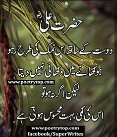 You are trying to Search best collection of Hazrat Ali Quotes images SMS ? Read Hazrat imam Ali A.S Quotes in Urdu. Friendship Quotes In Urdu, Urdu Quotes, Quotations, Qoutes, Friendship Status, Hazrat Ali Sayings, Imam Ali Quotes, Allah Quotes, Inspirational Quotes In Urdu