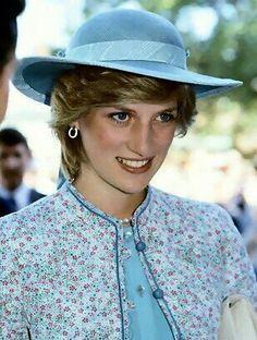 Diana in blue