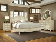 CHATEAU50SLEIGHBED in by American Woodcrafters in Bowling Green, KY - Chateau 5-0 Sleigh Bed