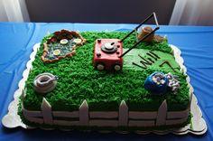 lawn mower birthday theme