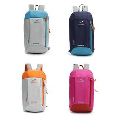 961276c86a3 New 10L Waterproof Nylon Backpack small Women Men climbing Bag urban daily  Backpacks teenager boy girl day pack sport bag-in Climbing Bags from Sports  ...