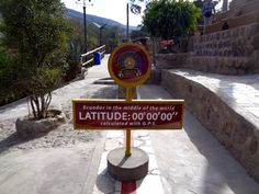 The Equator is the line which divides the northern and southern hemispheres. I was standing on the point at which is located - at La Mitad Del Mundo Lust For Life, South America, Globe, Adventure, World, Southern, Wanderlust, Speech Balloon, Adventure Movies