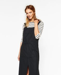 ZARA - WOMAN - DUNGAREES WITH SKIRT