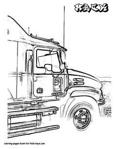dodge ram srt 10 coloring page