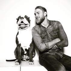 Alexander Gustaffson w/ his pitbull : if you love #MMA, you'll love the #UFC & #MixedMartialArts inspired fashion at CageCult: http://cagecult.com/mma