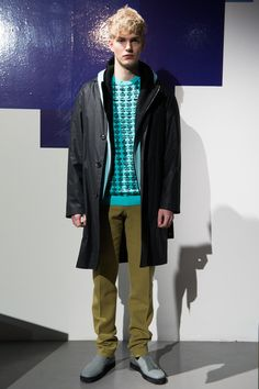 Jonathan Saunders Fall/Winter 2013 Menswear