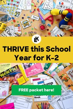 Whatever the circumstance, thinking of interactive activities for your students is always a challenge. Especially for students who are in kindergarten, 1st grade, and 2nd grade, young children need more engaging and fun lessons for more effective learning. Read this blog to find out how I can help your THRIVE this school year and the next!