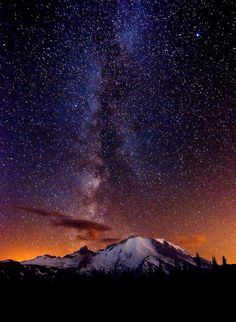 Milky Way... I'd love to just stare at the stars all night with a view like this....