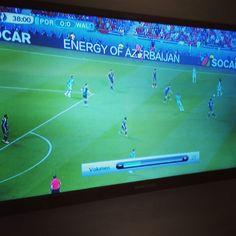 Saksaksi selostettu peli mutta näkyy täälläkin :D #lomalla