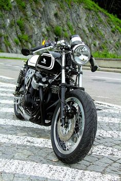 RocketGarage Cafe Racer: CB 750 Cafe Racer from Polonia