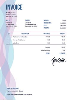 Invoice Template Us Wexler Payroll Template, Invoice Design Template, Receipt Template, Design Templates, Credit Note, Invoice Sent, Credit Card Readers, Brand Expert, Marketing Tools