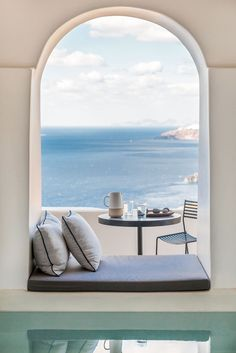 Interior Design Laboratorium has recently refurbished Porto Fira Suites, designed to capture the silent mystique and energy of Santorini.
