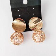 Βραδινά Σκουλαρίκια Χρώματος Χρυσό 418087 - Kosmimax Stud Earrings, Jewelry, Jewlery, Bijoux, Ear Gauge Plugs, Jewerly, Stud Earring, Jewelery, Jewels