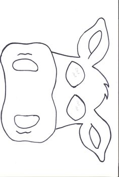 11 Best Cow Mask Images Cow Mask Farm Animals Animal Crafts