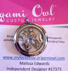Origami Owl Mother's Day locket. Create your own at http://mylocketluv.origamiowl.com