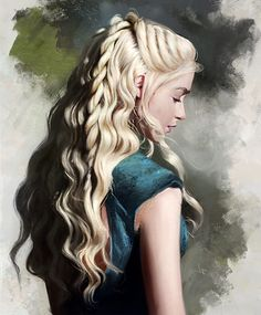 Justine Florentino is a great digital artist. Her specialization is a digital painting portrait girl. Daenerys Targaryen Art, Game Of Throne Daenerys, Khaleesi, Got Dragons, Mother Of Dragons, Female Portrait, Female Art, Oil Portrait, Supernatural