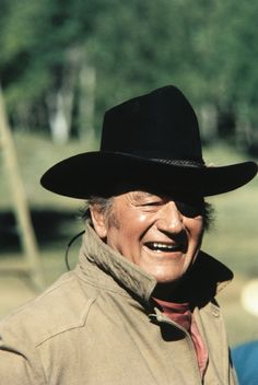 John Wayne, True Grit....my Dad's favorite movie. I love it, too. I've seen so many of his movies over and over, I feel like I know him!