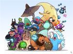 Starbound - My fellow monsters. by `Endling on deviantART