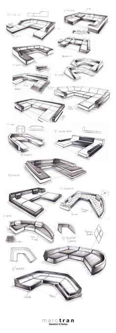 FURNITURE DESIGN - FREELANCE FOR IQLABELS 2013 by Marc TRAN, via Behance: