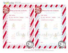 Christmas is for Kids on Pinterest   Letter from santa, Santa letter ...
