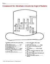 Abe Lincoln crossword puzzle