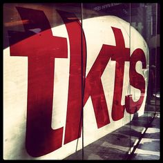 TKTS booth in Times Square, New York, NY. The best place for discounted tkts. Usually there is some entertainment while you wait on line.
