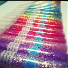 So much fun! #glitter #crafts