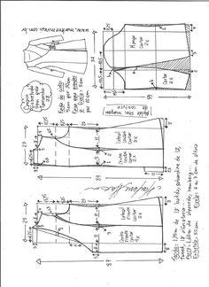 """Casaco sobretudo com decote """"V"""" – DIY – molde, corte e costura – Marlene Mukai"""