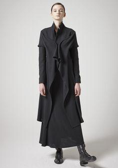 yohji yamamoto, a/w 2014-2015, noir paris collection.