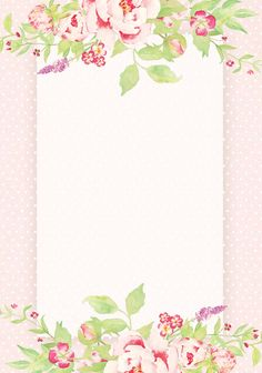 This Pin was discovered by ~❁A Flower Frame, Flower Art, My Flower, Borders For Paper, Borders And Frames, Wallpaper Backgrounds, Iphone Wallpaper, Wallpapers, Printable Frames