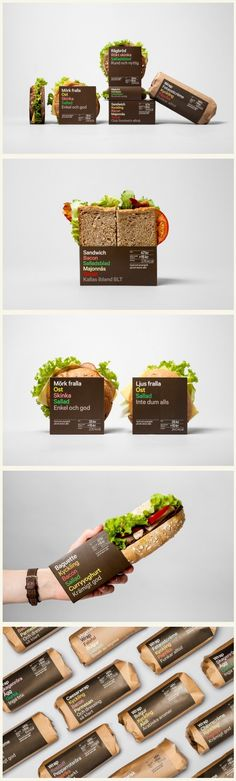 Cool packaging design.