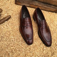 12137 Mack loafers. Available at: www.andres-sendra.com #patinaconcept