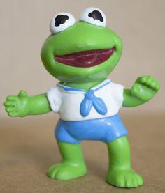 Happy Meal Toy Muppet Babies Kermit