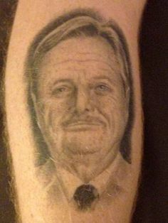 """This Guy Has A Tattoo Of Mr. Feeny From """"Boy Meets World"""" And It's Amazing"""