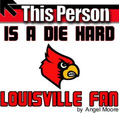 Louisville Cardinals graphic I made for facebook