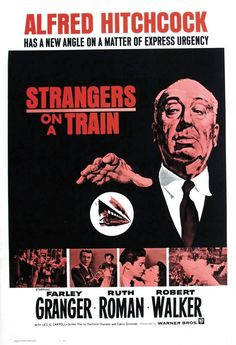 What's it say about the director when he's got larger billing on the poster than the actors? Another Hitchcock classic for the must-see list.
