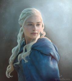 Daenerys Targaryan - Game of Thrones by itshouldbecanon.deviantart.com on @DeviantArt