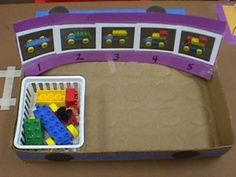 PreK ES example of a visually structured leisure activity