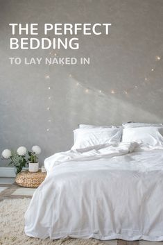 Extra soft bedding for a cozy relaxing bedroom. Learn more about Ginkova bedding. Modern Bed Sheets, Soft Bed Sheets, Dorm Bedding, Bedding Sets, Bedroom Plants, Affordable Bedding, White Houses, Good Night Sleep, Duvet Covers