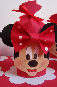 Foamy Minnie Party Favor Pouch Inspiration * No instructions available