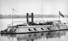 USS Baron Dekalb (1861-1863) City class ironclad gunboat, steam engine