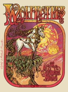 Wolfmother Concert Poster by Michael Michael Motorcycle