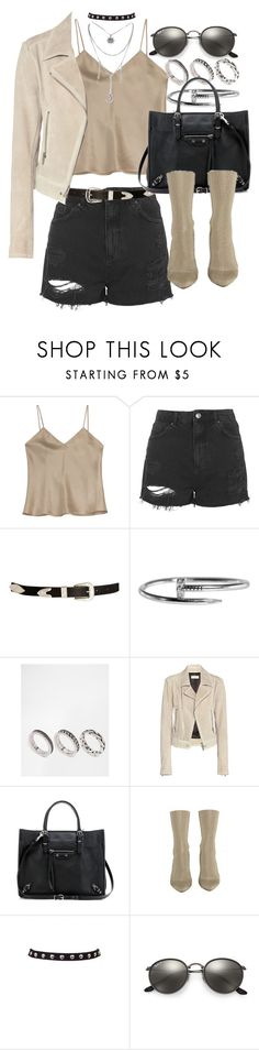 """Untitled #20283"" by florencia95 ❤ liked on Polyvore featuring Etro, Topshop, ASOS, Balenciaga and Ray-Ban"