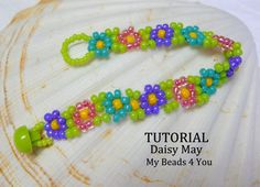 Bracelet Beading Patterns, Beading Pattern, Beaded Jewelry, PDF Tutorial, Instructions, Tutorials, Beadweaving Tutorial, Seed Bead Tutorial