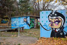 Graffiti Quedlinburg (D) November 2012 art kunst streetart Harz Germany Photo by: Jascha Hoste
